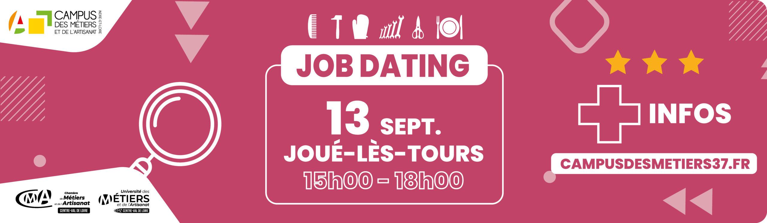 job dating campus des métiers 37