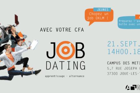 Job dating apprentissage Campus des métiers 37
